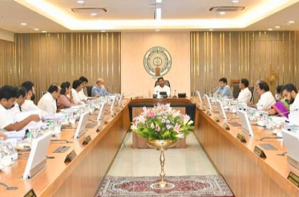 AP Cabinet Meeting Chaired By CM YS Jagan - Sakshi