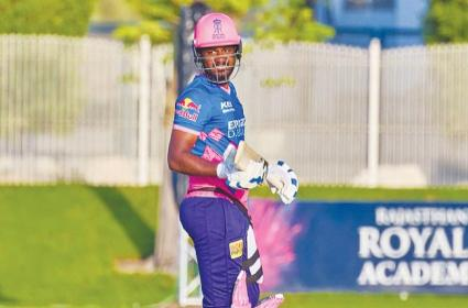IPL 2021: RR Captain Sanju Samson Fined INR 12 Lakh For This Reason - Sakshi