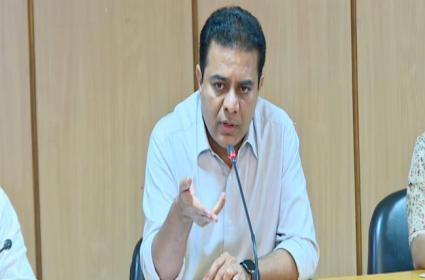 Hyderabad: Minister Ktr Meeting On Municipal Departments - Sakshi