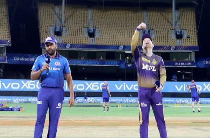 IPL 2021 2nd Phase MI Vs KKR Match Live Updates And Highlights - Sakshi
