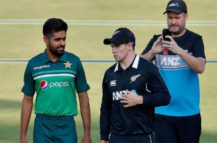 Threat To New Zealand Cricketers Came From India Says Pakistan - Sakshi