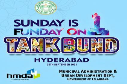 Sunday Funday is back on Hyderabad Tank Bund from Sept 26 - Sakshi