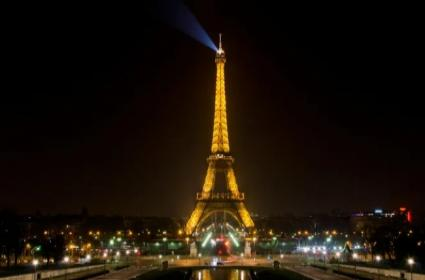 Why it is illegal to take photos of the Eiffel Tower at night - Sakshi
