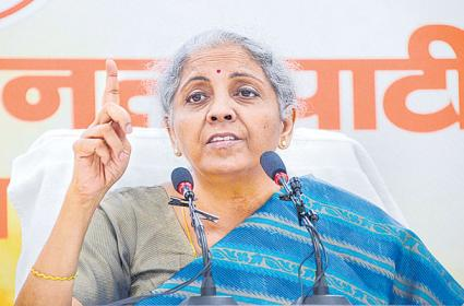 Indian economy on a sustained path of revival says Nirmala Sitharaman - Sakshi