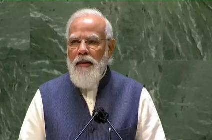 New York: PM Narendra Modi Speech At UNGA Summit - Sakshi