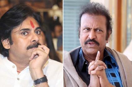 Manchu Mohan Babu React On Pawan Kalyan Comments - Sakshi