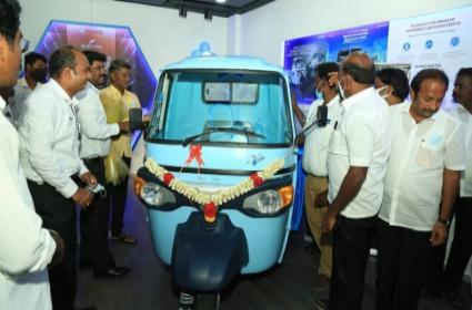 Piaggio India subsidiary sets up first EV facility in Chennai - Sakshi