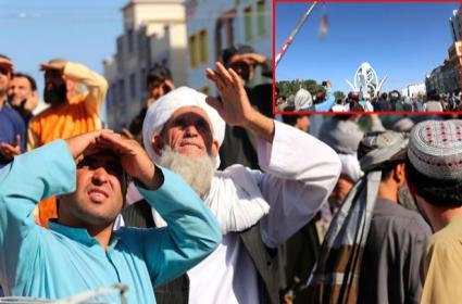 Taliban Hang Dead Body Afghan City Main Square - Sakshi