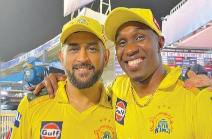 IPL 2021 CSK Vs KKR: Why DJ Bravo Not Playing Today Match - Sakshi