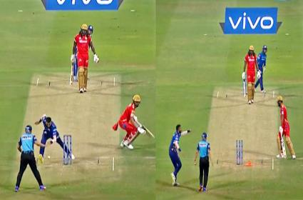 KL Rahul Impress With Rohit Sharma And Krunal Pandya Great Sportsmanship - Sakshi