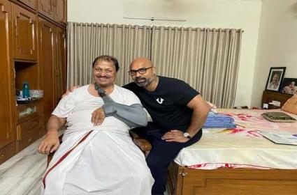 D. Srinivas Slipped at His Residence in Hyderabad - Sakshi
