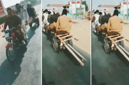Desi Jugad 6 People travelling Together On A Bike Watch This Viral Video - Sakshi