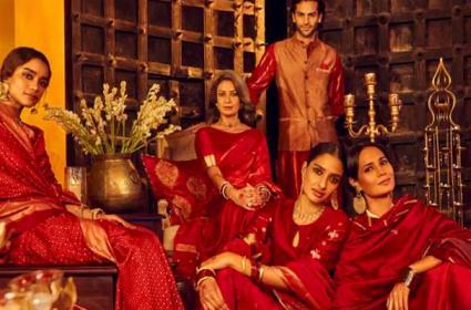 Diwali CollectionAdd Jashn-e-Riwaaz Fabindia Faces Ire - Sakshi
