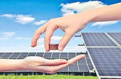 Global solar sector sees 190 per cent jump in corporate funding - Sakshi