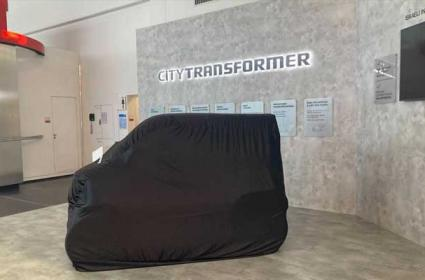 City Transformer Is Small Urban EV With A Folding Adjustable Body - Sakshi