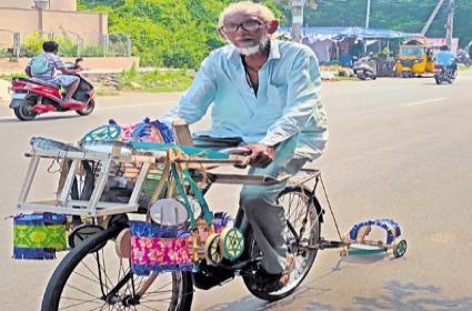 Pension not received with errors in Aadhaar Errababu - Sakshi