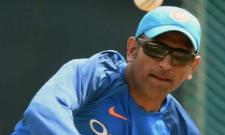 MS dhoni bowling video went viral after bcci post it
