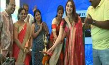 heroine tamanna open shopping malls in ameerpet hyderabad
