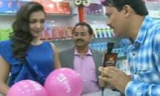 BNew Mobiles 32nd store Grand inauguration at Eluru with Actress Catherine Tresa