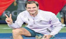 Federer claims 2nd Shanghai title