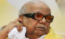 Karunanidhi  kissing his great grandson