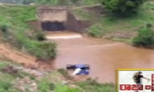 Car falls into canal, west Godavari district