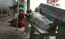 people died with viral fevers in Praskasham dist