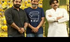 pawan attend ntr movie inauguration function