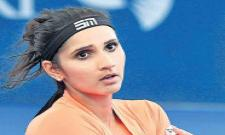 Sania's pair lost in the semi-finals