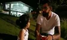 virat kohlis reunion ms dhonis daughter ziva