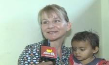 Denmark Woman Adopt a child in Nalgonda - Sakshi