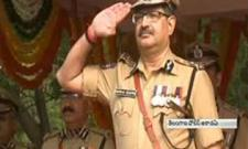 great farewell to DGP Anurag Sharma - Sakshi
