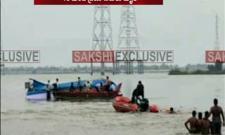 Boat Turtles in River Krishna, 15 Drowned - Sakshi