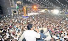 ys jagan reaches duvvooru during padayatra - Sakshi