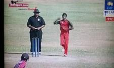 Kevin Koththigoda, Sri Lanka's latest mystery spinner who bowls like Paul Adams - Sakshi