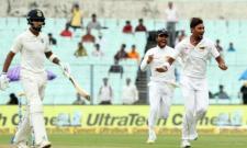 Bad Light halts India-Sri Lanka Test - Sakshi