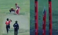Rashid Khan's unpickable googly breaks middle stump into two pieces - Sakshi