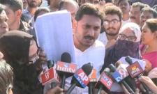 Fatima Medical College students meets ys jagan mohan reddy - Sakshi