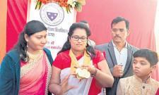 Eight gold medals in medicine - Sakshi