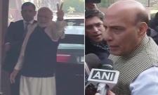 We will form govt in both states : Rajanath - Sakshi