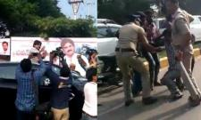 Two injured in Pawan Kalyan tour - Sakshi