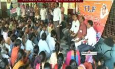 junior lecturer protest in hyderabad - Sakshi