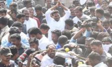 PrajaSankalpaYatra 68th Day Ends - Sakshi