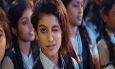 Priya Prakash Varrier Has Taken The Internet By Storm With Her Wink And It's Raining Love - Sakshi