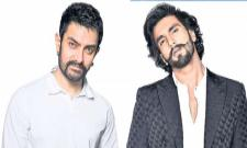 Impressed by Khilji act, Aamir offers Ranveer a role in Mahabharat? - Sakshi