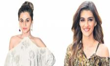 Taapsee Pannu and Kriti Sanon to share screen space in Anurag Kashyap's Womaniya? - Sakshi