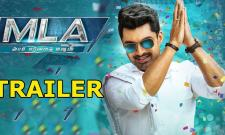 MLA movie Trailer release - Sakshi