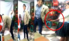 Groom gets beaten by future mother in law in peru - Sakshi