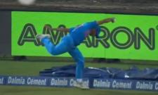 Shardul Thakur takes a briliant catch at boundary against Bangladesh Match - Sakshi