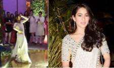 Sara Ali Khan Dance Video Goes Viral - Sakshi